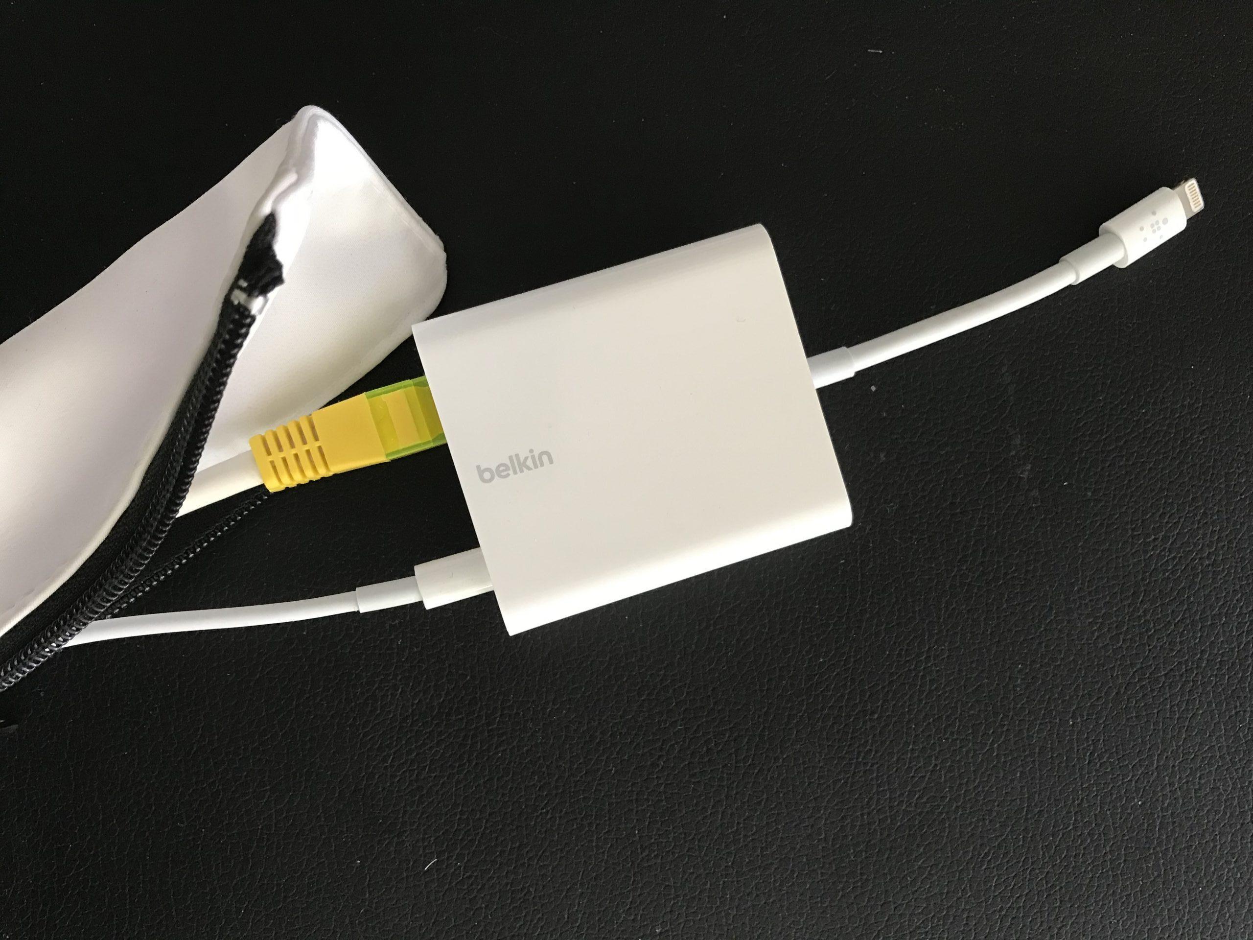 Kabel configuratie voor wifi-vrij internetten met mobiele telefoon